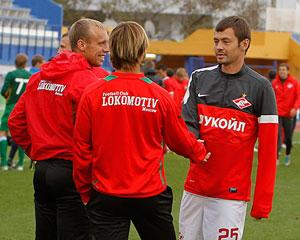 Динияр Билялетдинов, Дмитрий Сычев и Денис Глушаков